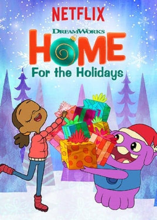 Póster Dreamworks: dulce hogar, dulce Navidad