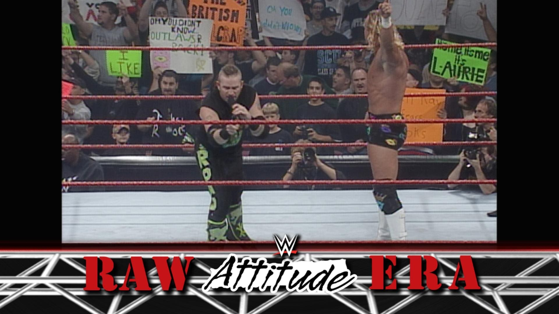 WWE Raw Season 7 :Episode 40  RAW is WAR 332