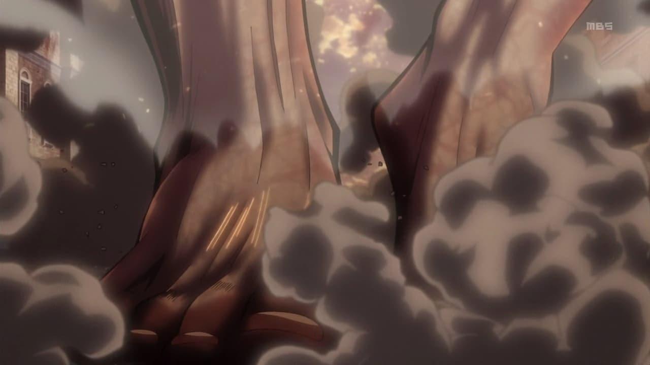 Attack on Titan Season 1 :Episode 13  Primal Desire: The Struggle for Trost, Part 9