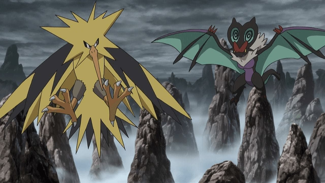 Pokémon Season 19 :Episode 17  An Electrifying Rage!