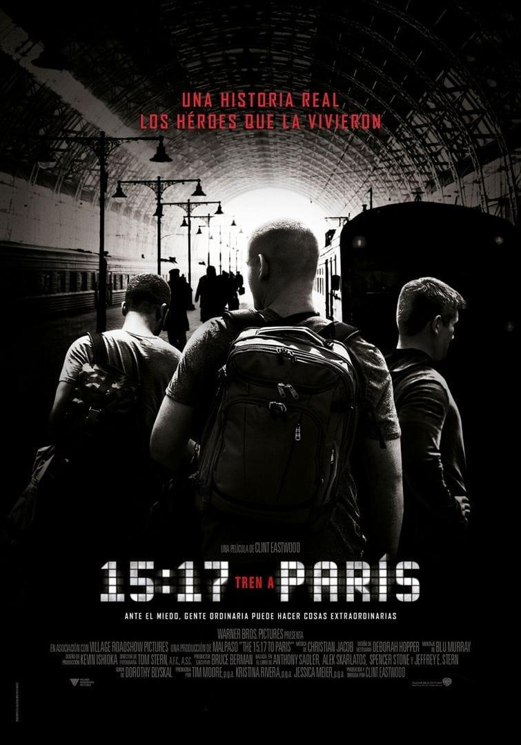 Póster 15:17 Tren a París