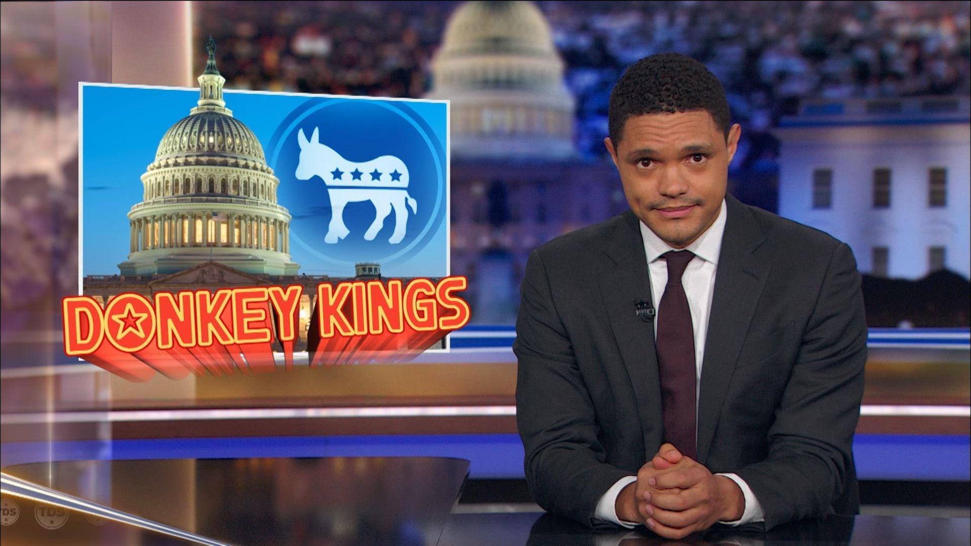 The Daily Show with Trevor Noah Season 24 :Episode 22  Maurice Ashley