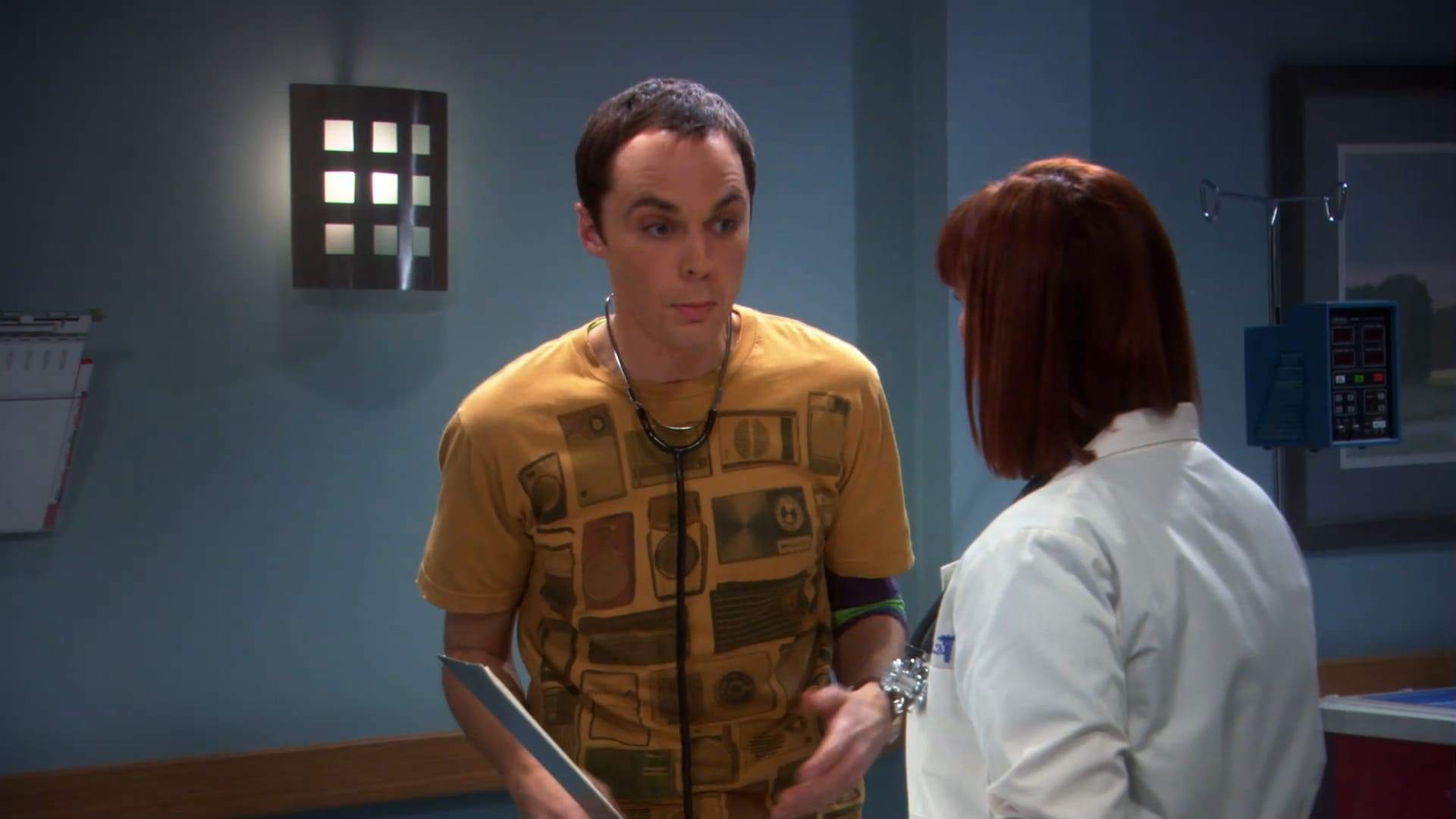 The Big Bang Theory Season 2 :Episode 10  The Vartabedian Conundrum