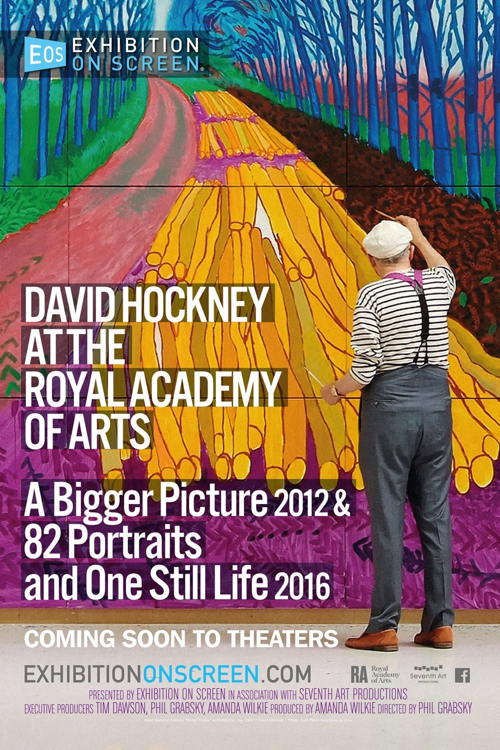 image for David Hockney at the Royal Academy of Arts - Exhibition on Screen