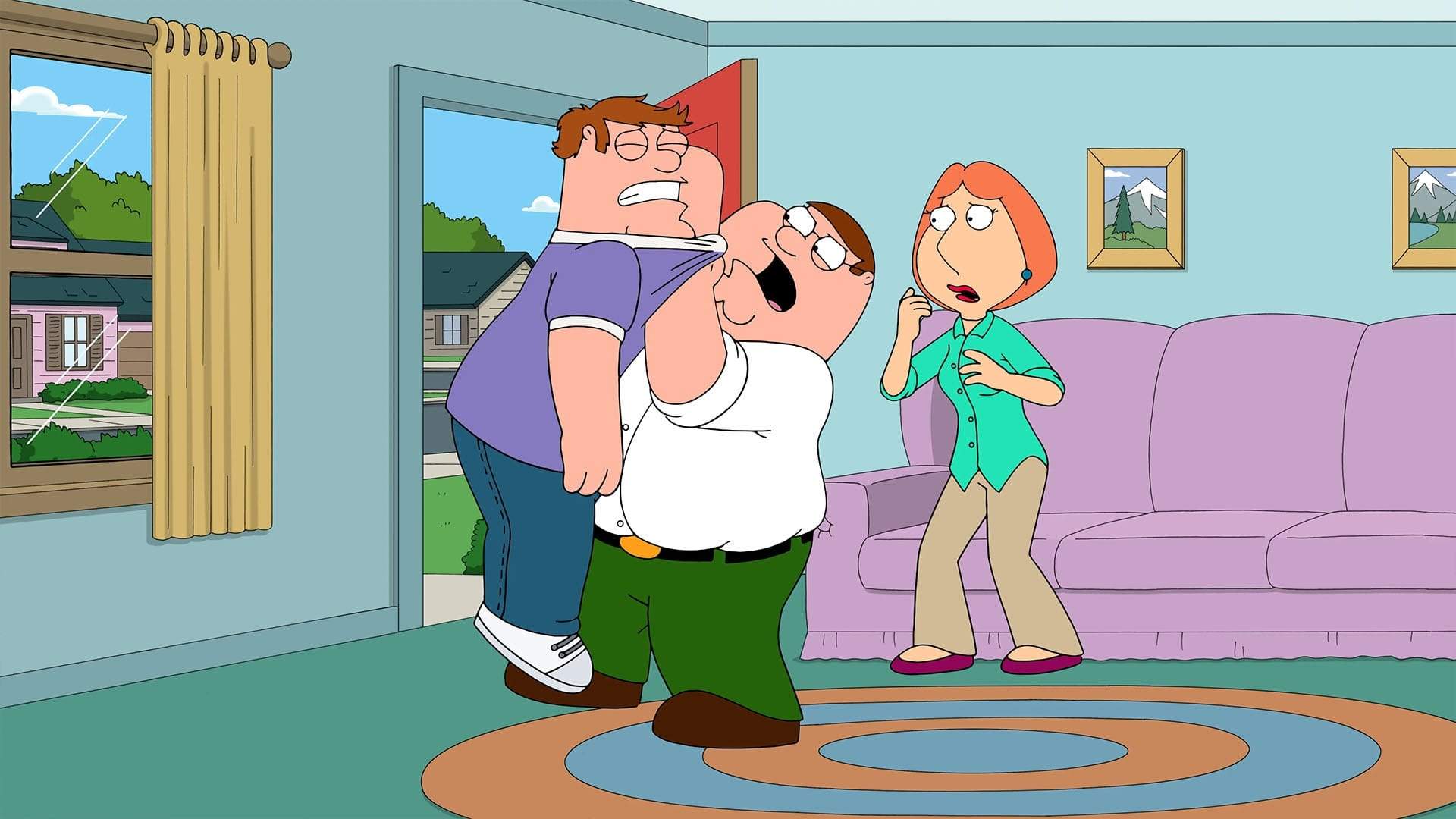 Family Guy Season 15 :Episode 20  A House Full of Peters