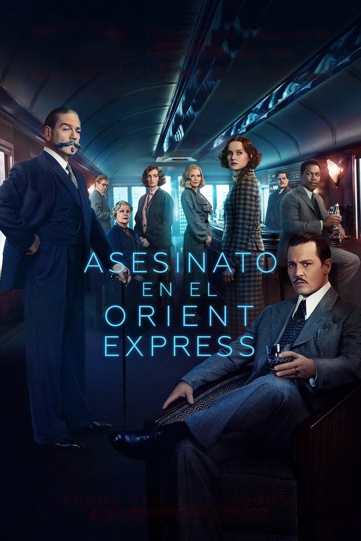 Póster Asesinato en el Orient Express