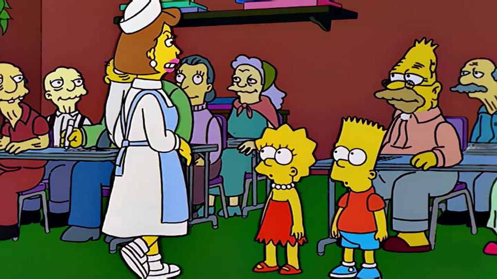 The Simpsons Season 10 :Episode 20  The Old Man and the
