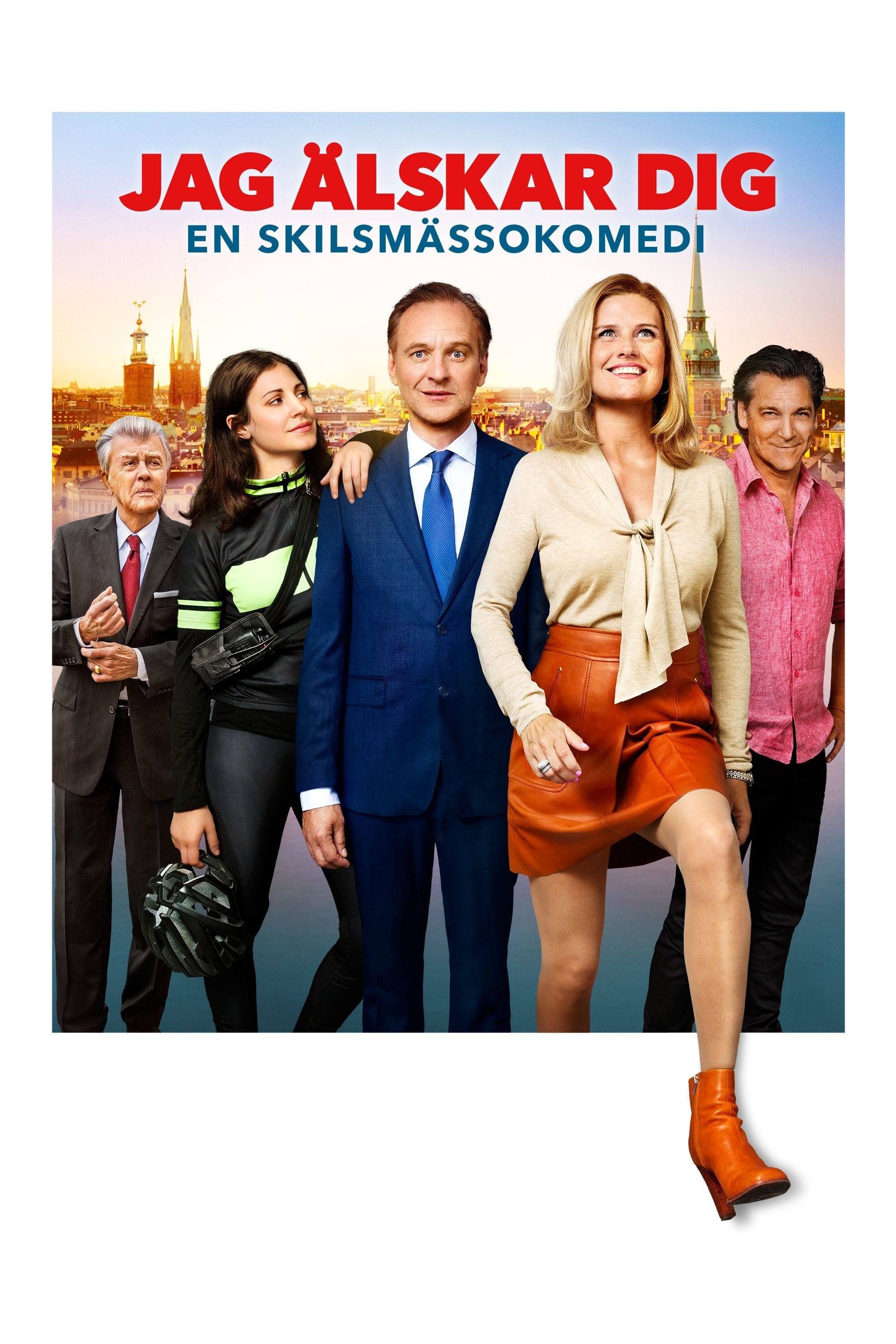 Póster I Love You - A Divorce Comedy