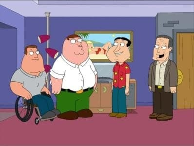 Family Guy Season 8 :Episode 18  Quagmire's Dad