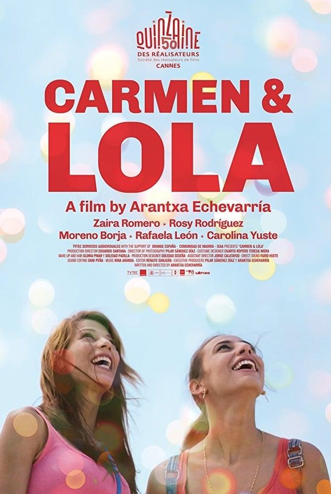 Póster Carmen y Lola
