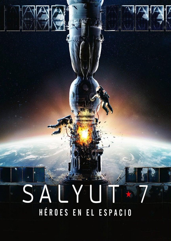 Póster Salyut-7: Héroes en el espacio