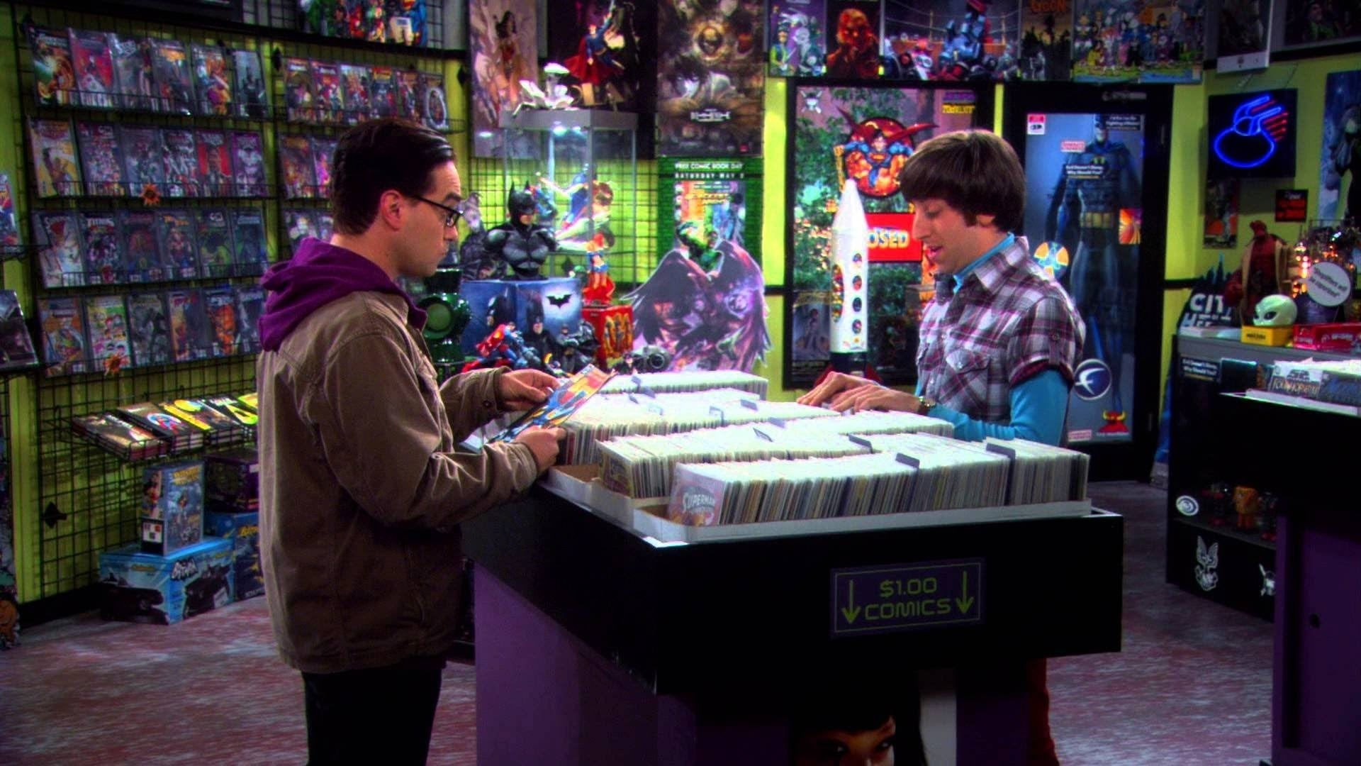 The Big Bang Theory Season 3 :Episode 7  The Guitarist Amplification