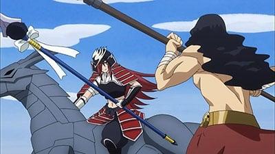 Fairy Tail - Season 5 Episode 38 : Erza vs. Sagittarius! Horseback Showdown!