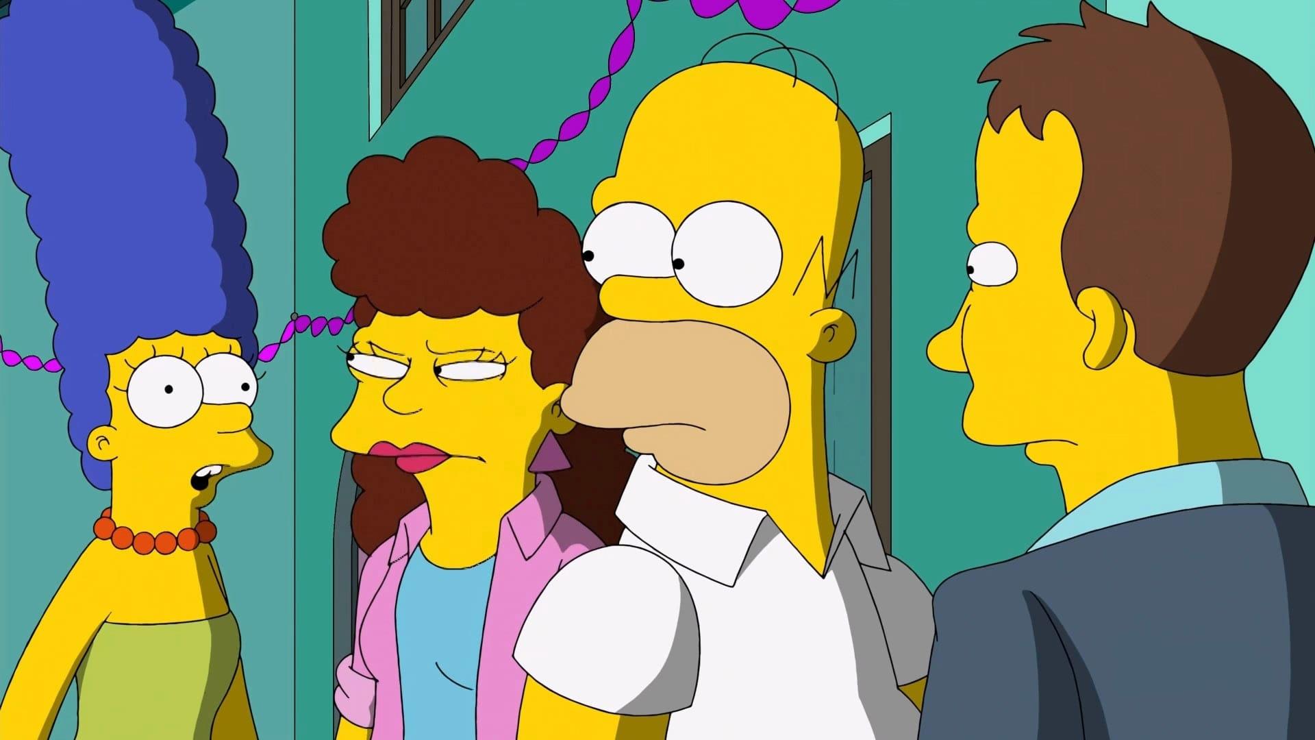 The Simpsons Season 24 :Episode 22  Dangers on a Train