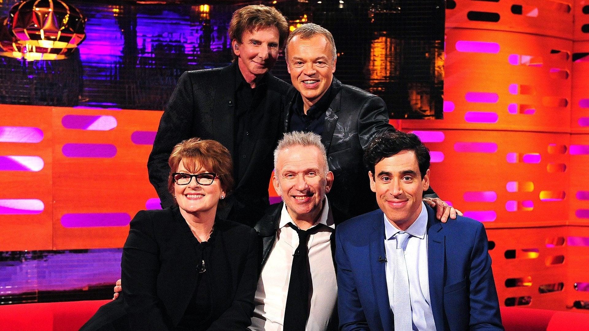 The Graham Norton Show Season 15 :Episode 6  Brenda Blethyn, Stephen Mangan, Jean Paul Gaultier, Barry Manilow