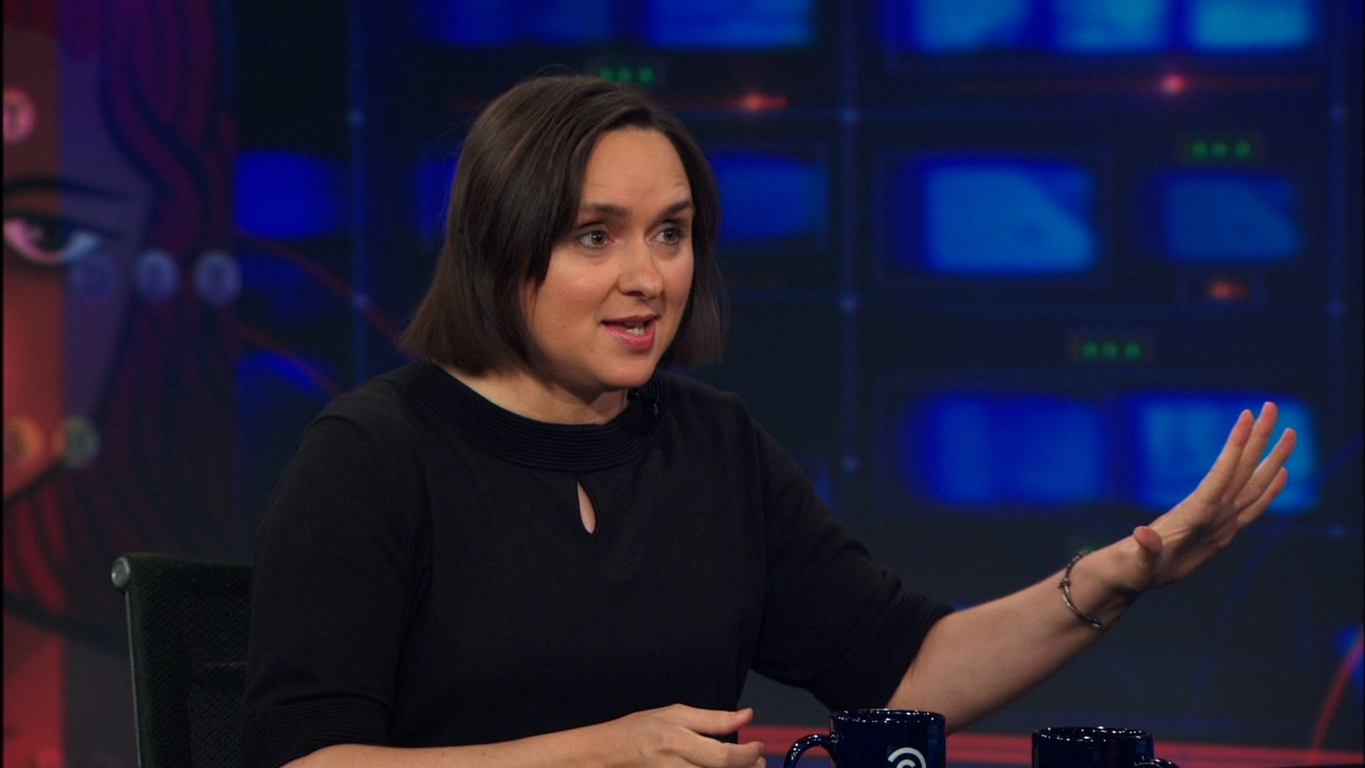 The Daily Show with Trevor Noah Season 18 :Episode 128  Sarah Vowell