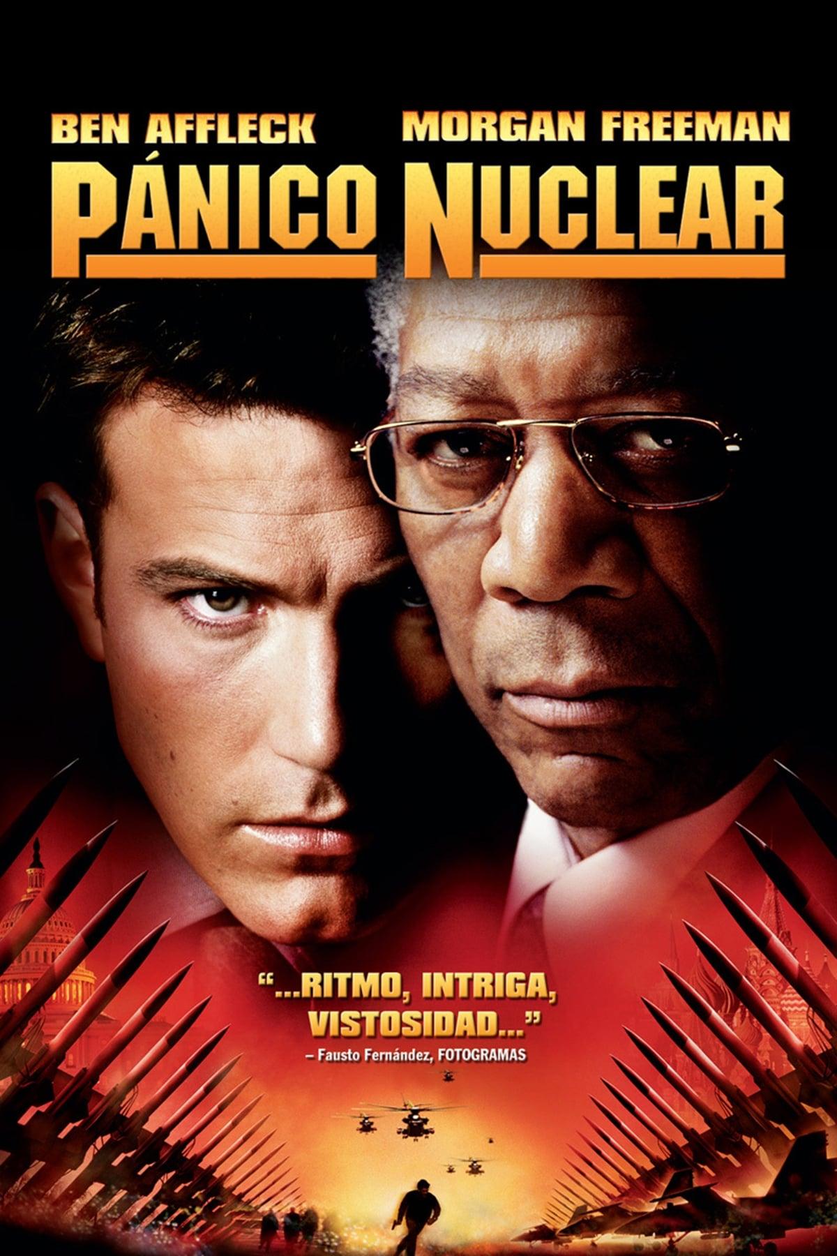 Póster Pánico nuclear
