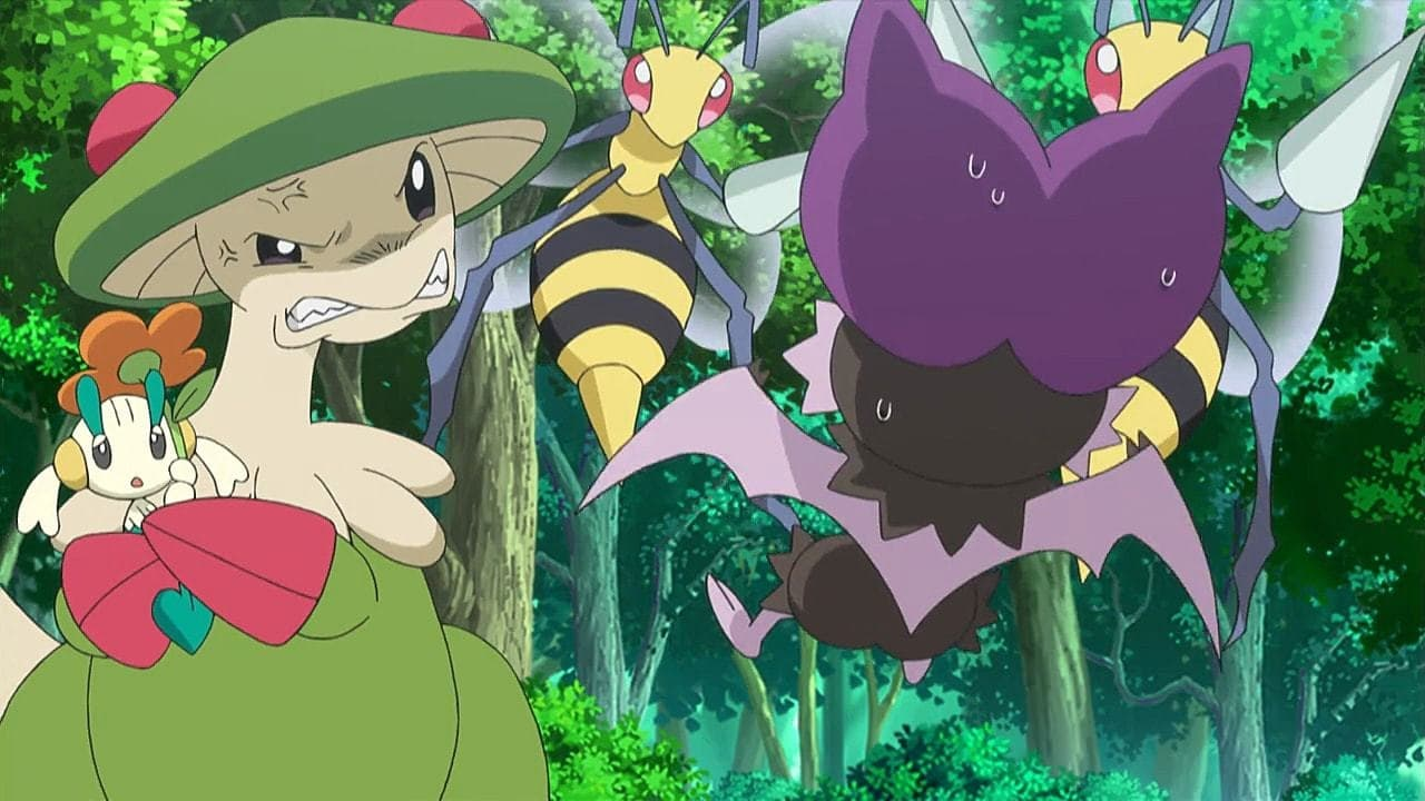 Pokémon Season 19 :Episode 11  A Windswept Encounter!