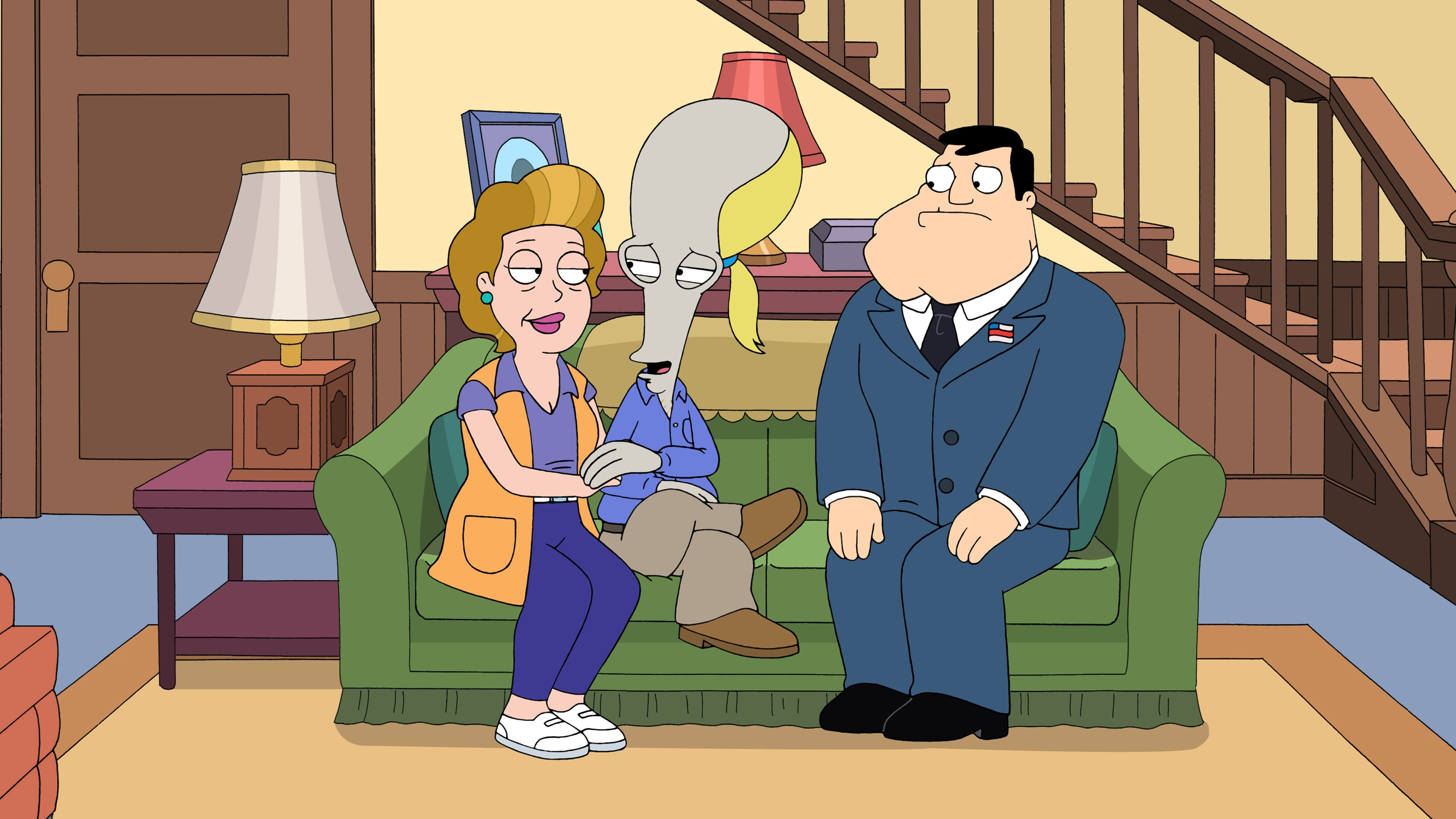 American Dad! Season 9 :Episode 4  American Stepdad