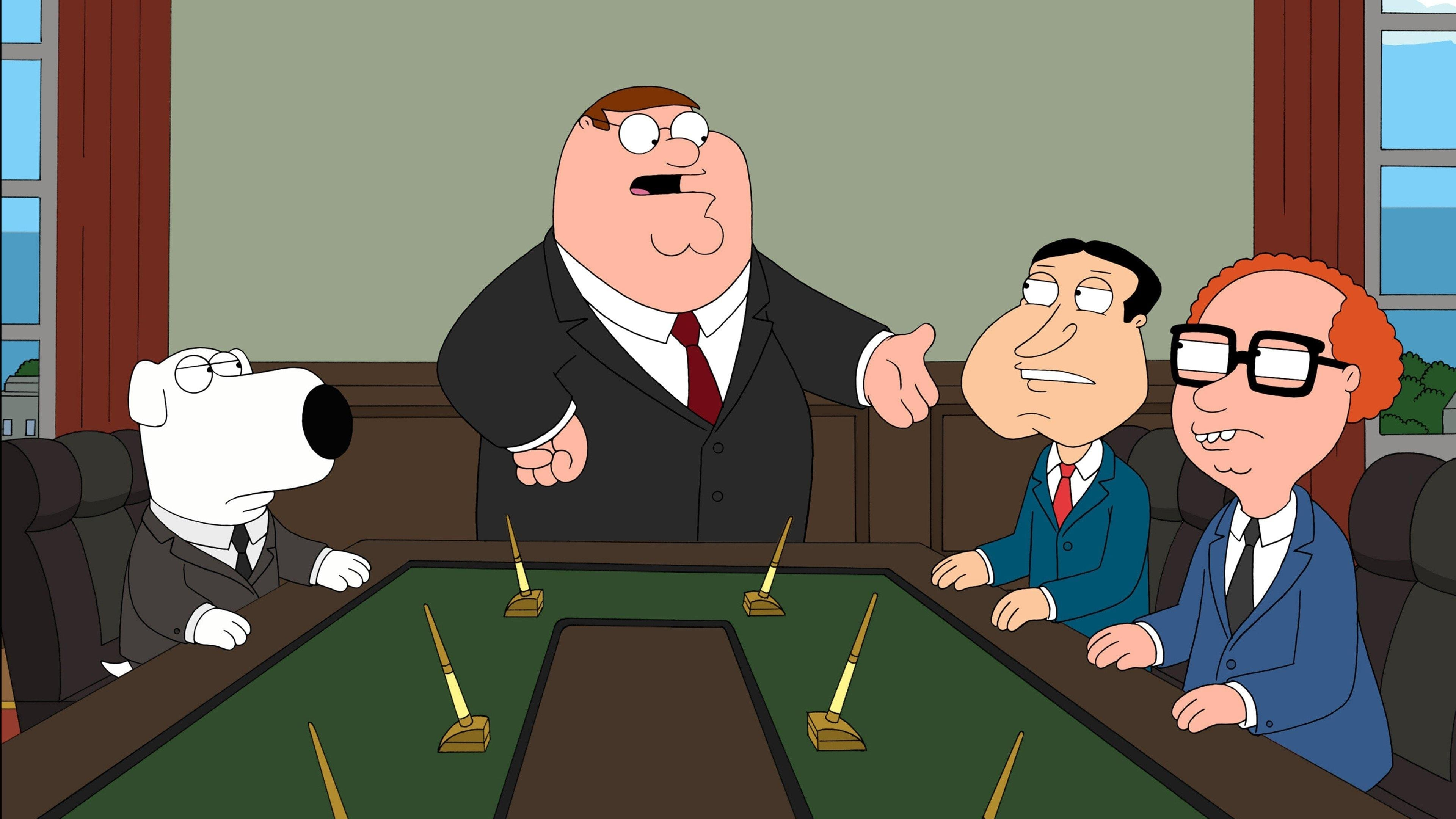 Family Guy Season 8 :Episode 9  Business Guy