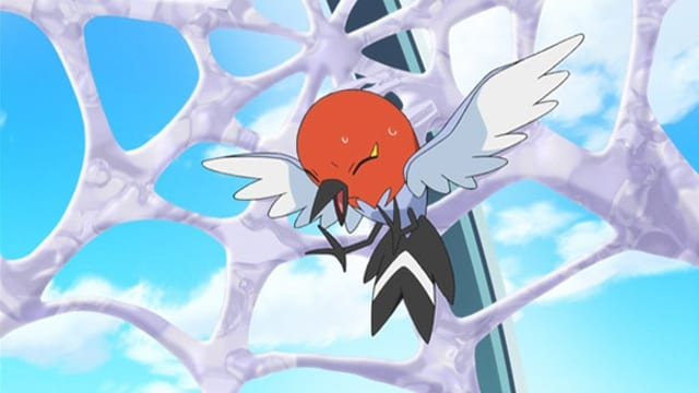 Pokémon Season 17 :Episode 5  A Blustery Santalune Gym Battle!