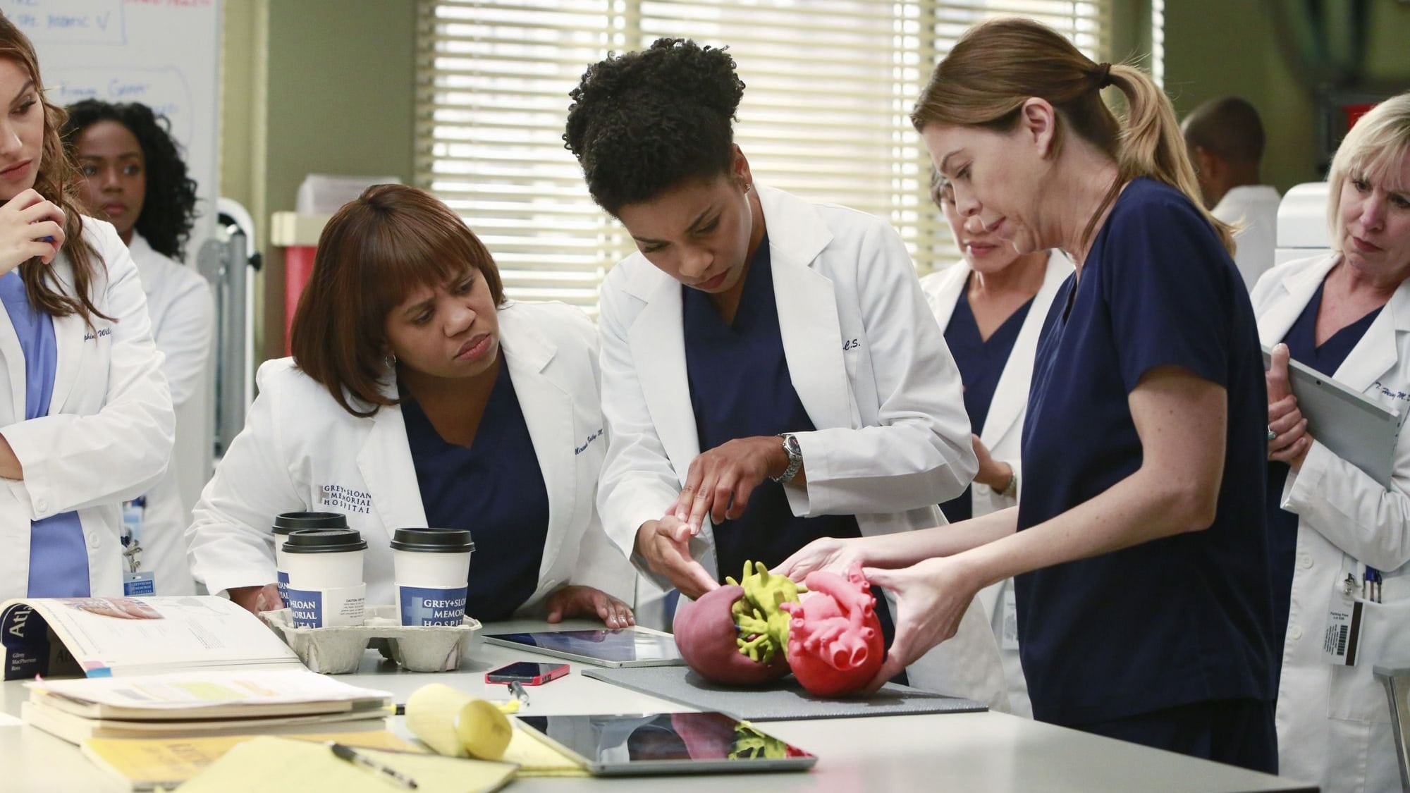Grey's Anatomy Season 11 :Episode 10  The Bed's Too Big Without You