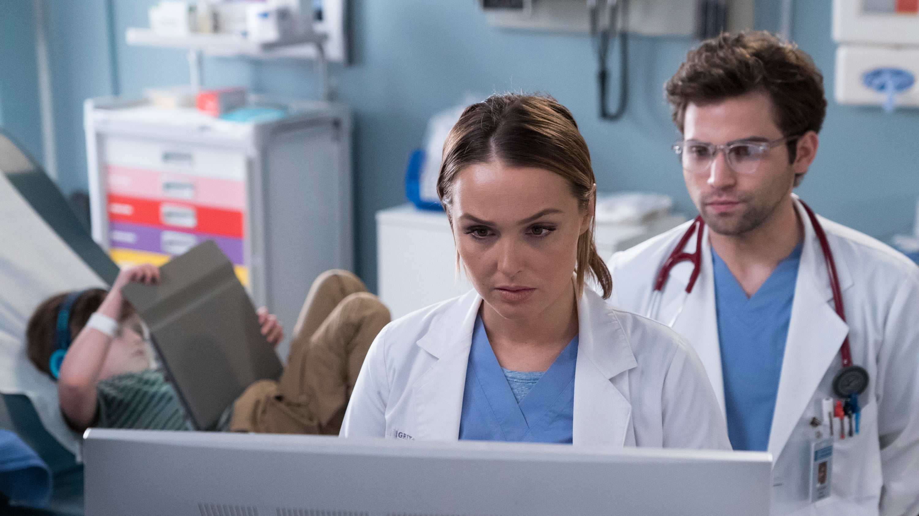 Grey's Anatomy Season 14 :Episode 21  Schadensbegrenzung