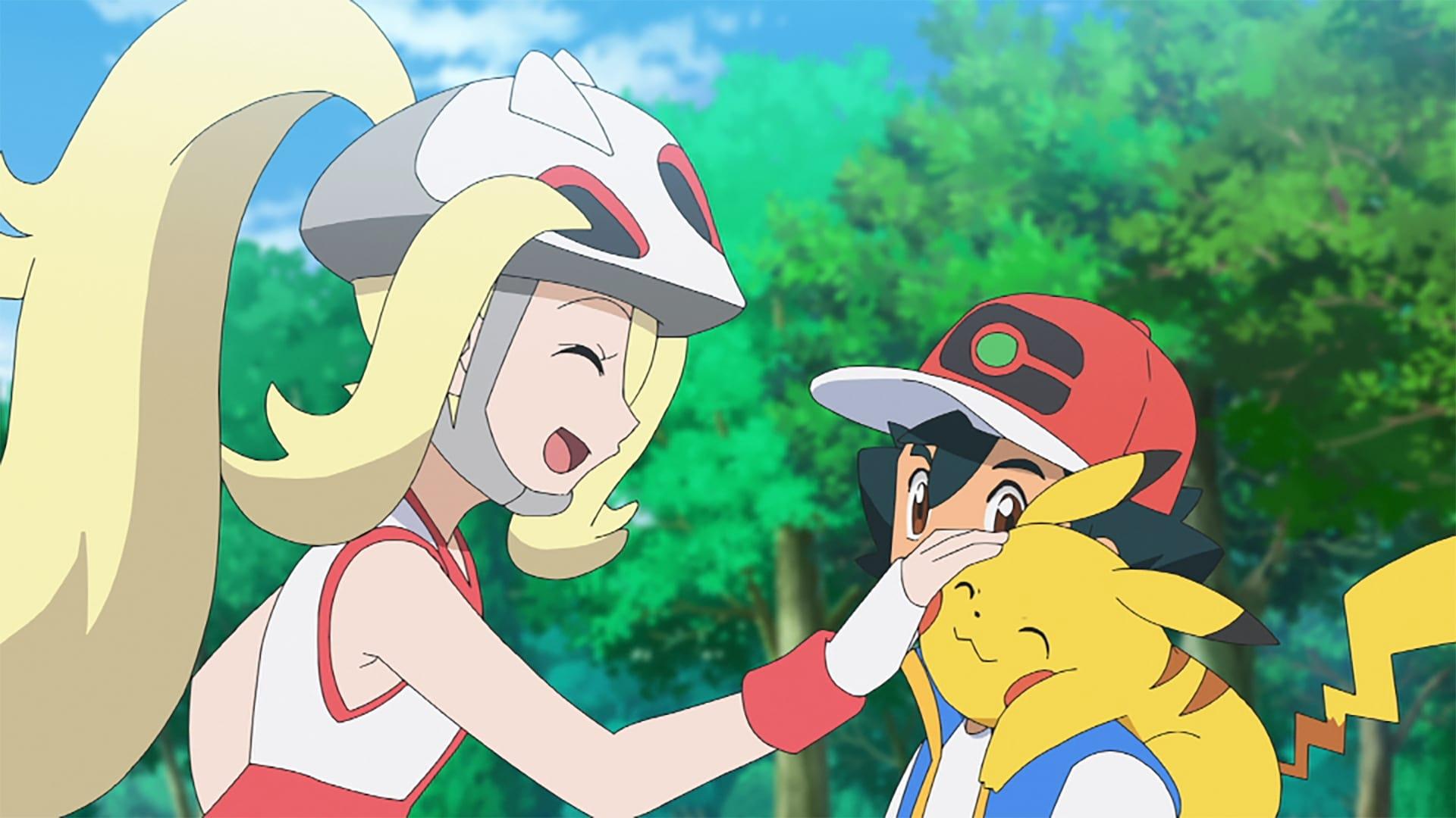 Pokémon Season 23 :Episode 25  A Battle Festival Exploding With Life! VS Mega Lucario!