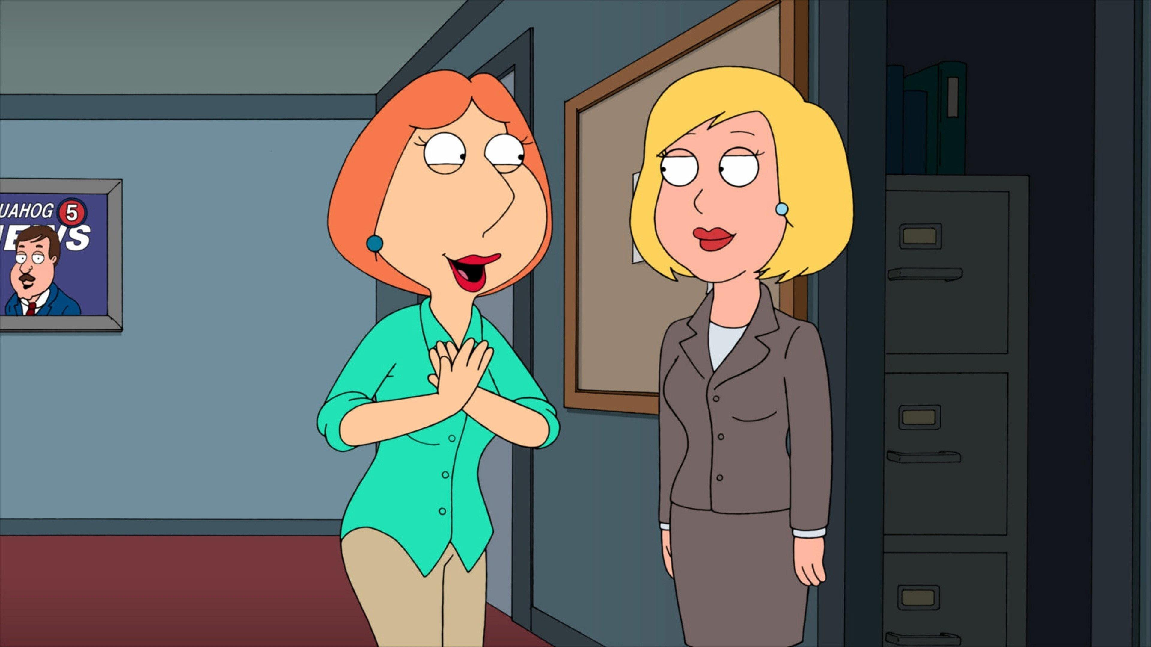 Family Guy Season 9 :Episode 9  And I'm Joyce Kinney