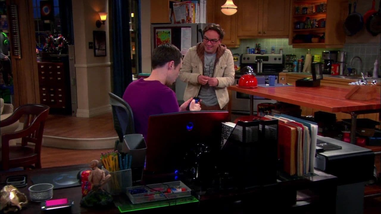 The Big Bang Theory - Season 6 Episode 5 : The Holographic Excitation