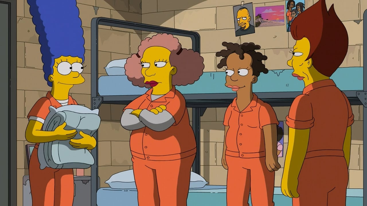 The Simpsons - Season 27 Episode 22 : Orange is the New Yellow