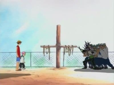 One Piece Season 1 :Episode 3  Morgan VS Luffy! Who`s This Beautiful Young Girl?