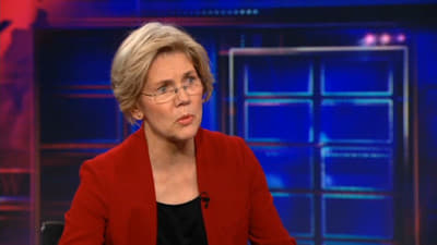 The Daily Show with Trevor Noah - Season 17 Episode 49 : Elizabeth Warren