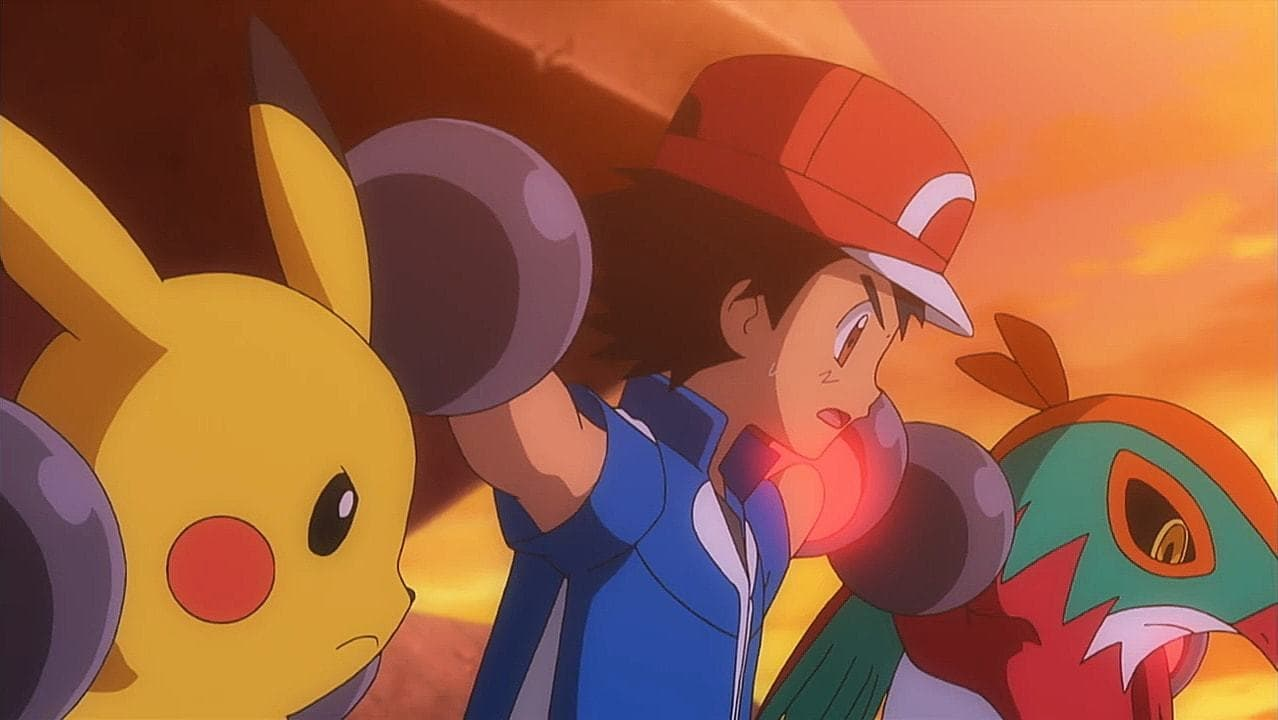 Pokémon Season 19 :Episode 40  Coming Apart at the Dreams!
