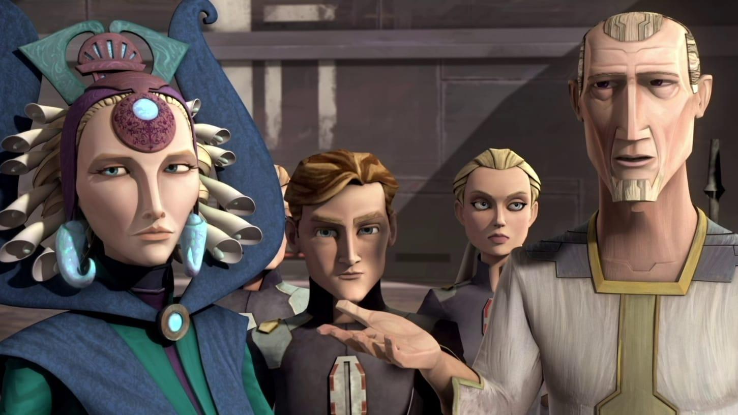 Star Wars: The Clone Wars - Season 3 Episode 6 : The Academy