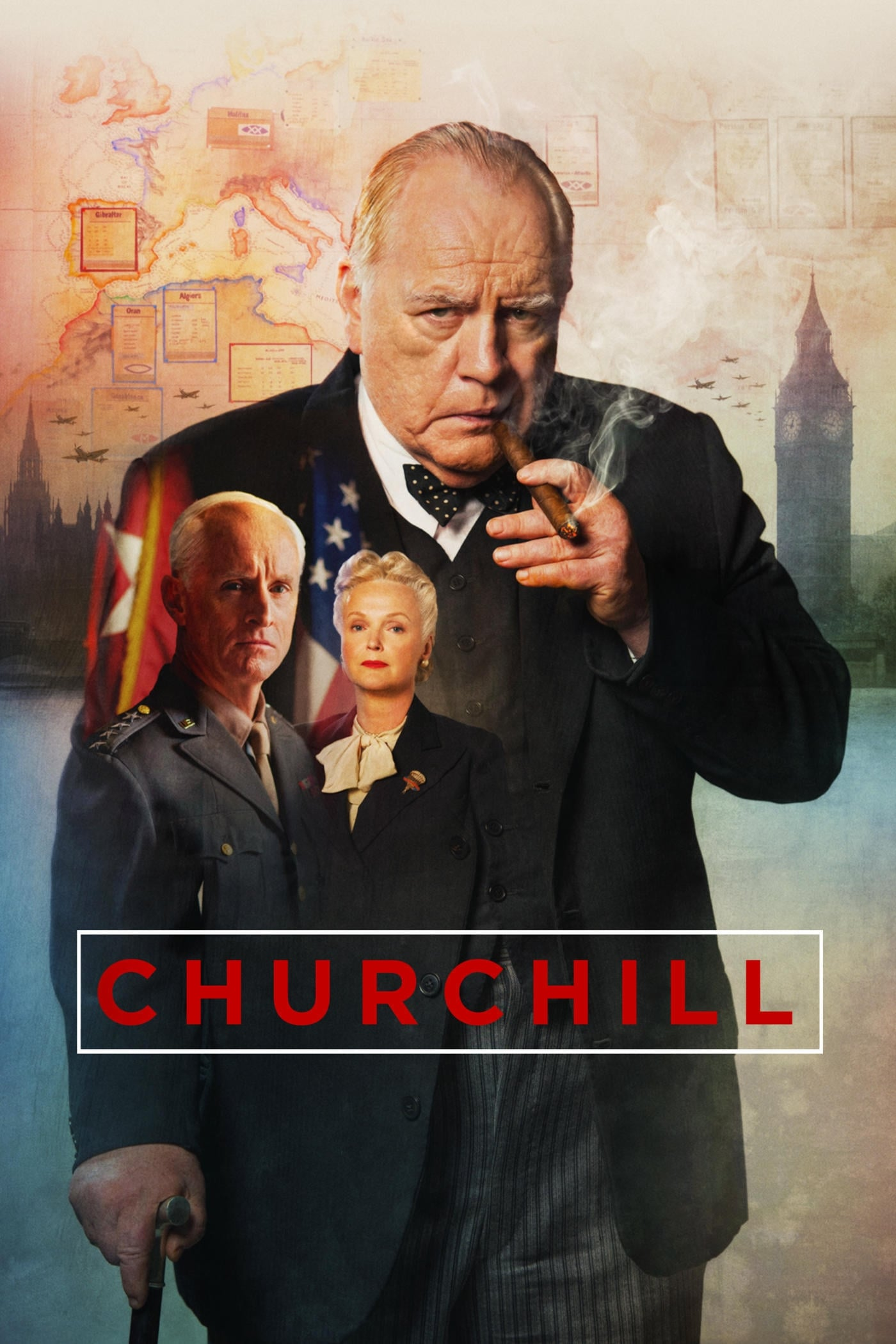 Póster Churchill