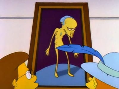 The Simpsons Season 2 : Brush with Greatness