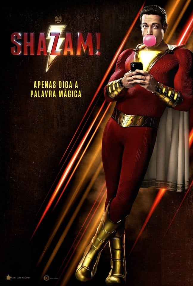 Shazam! (2019) Torrent - HDRip 720p e 1080p Dublado e Legendado Download