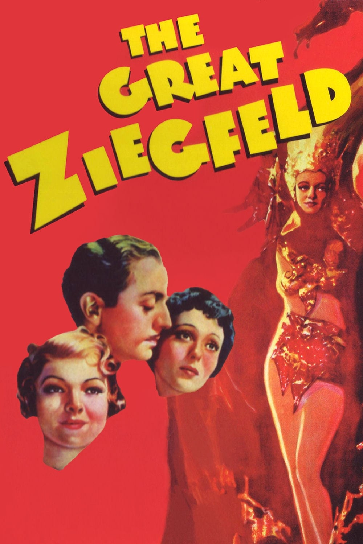 Póster El gran Ziegfeld