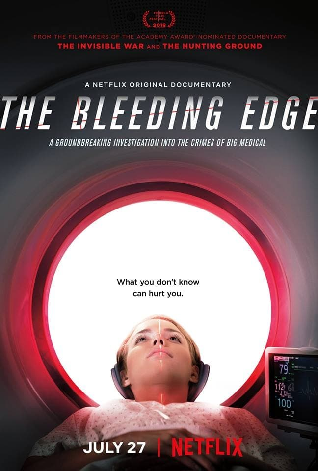 Póster The Bleeding Edge