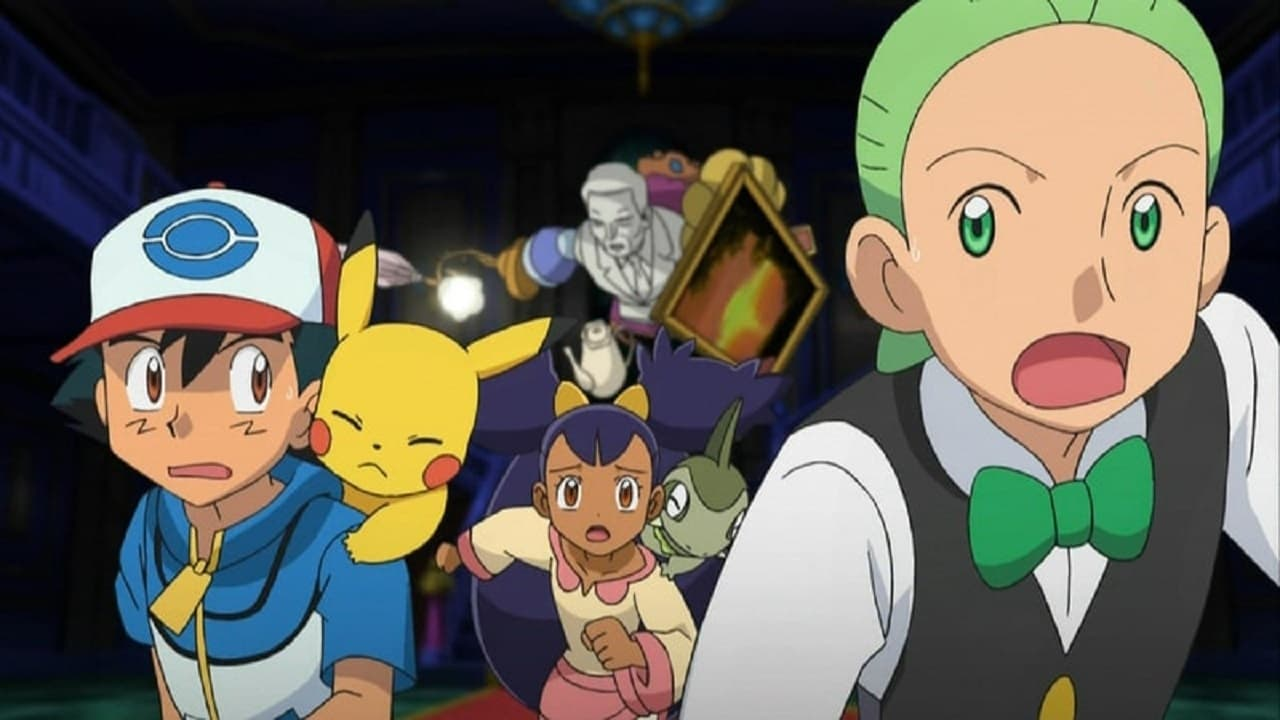 Pokémon Season 14 :Episode 26  Scare at the Litwick Mansion!