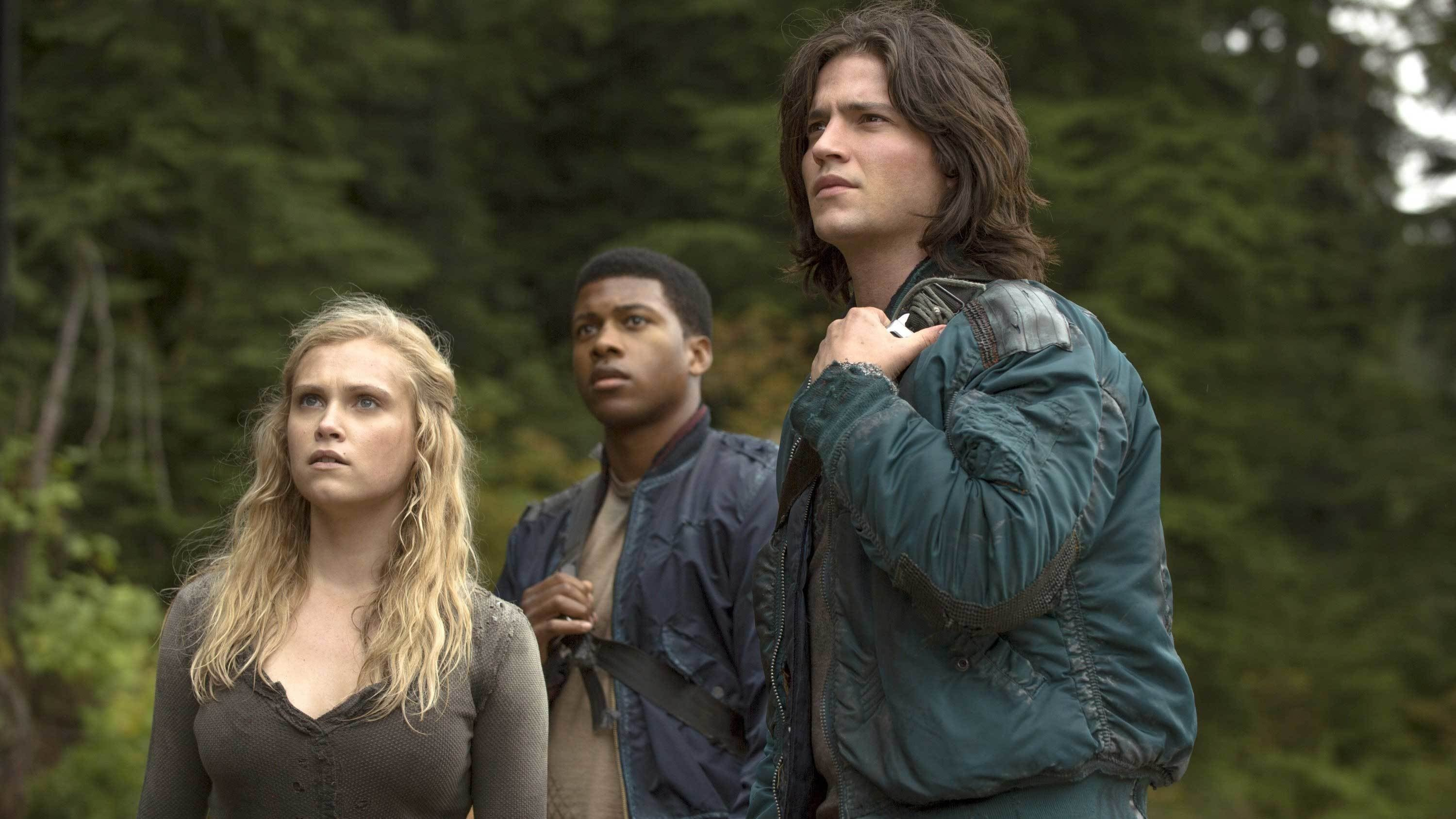 The 100 Season 1 :Episode 3  Earth Kills