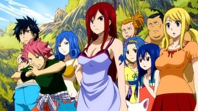 Fairy Tail Season 4 :Episode 4  Just Enough Time to Pass Each Other