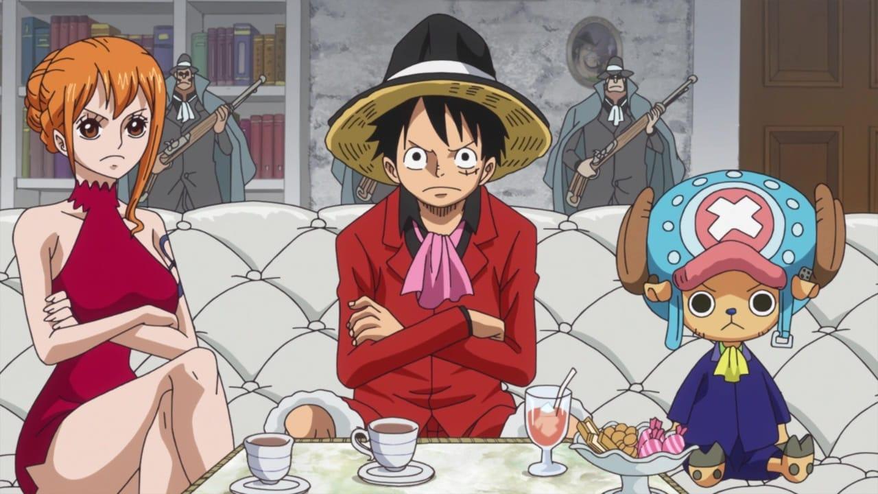One Piece Season 19 :Episode 827  A Secret Meeting! Luffy vs. the Fire Tank Pirates