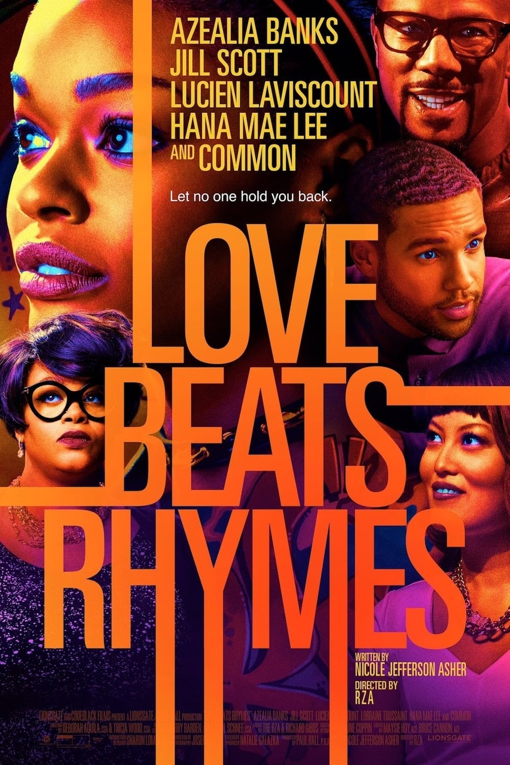 Póster Love Beats Rhymes