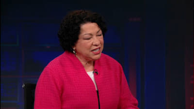 The Daily Show with Trevor Noah Season 18 :Episode 47  Sonia Sotomayor