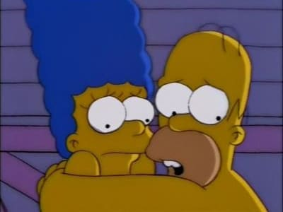 The Simpsons Season 9 :Episode 25  Natural Born Kissers