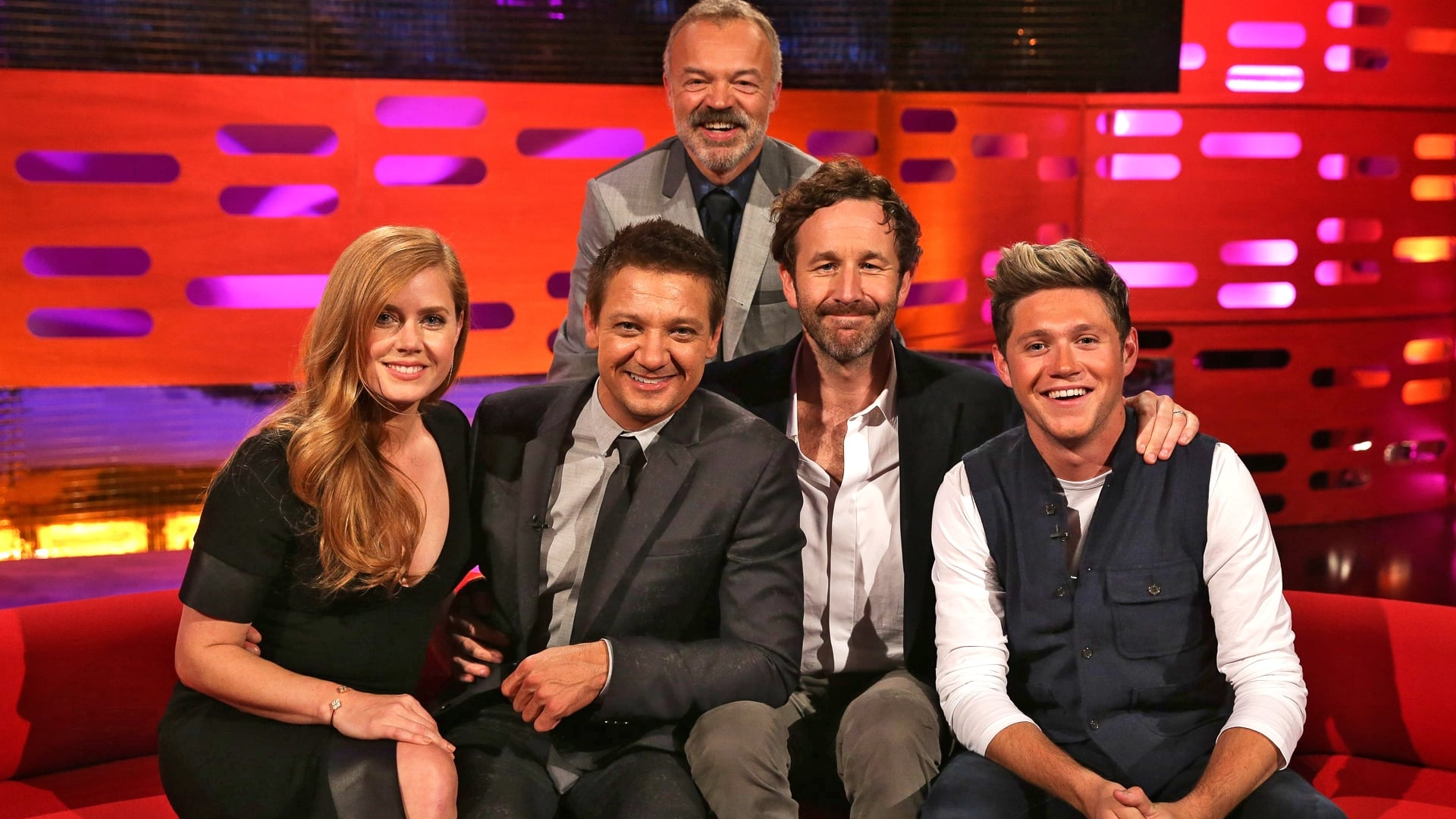 The Graham Norton Show Season 20 :Episode 3  Amy Adams, Jeremy Renner, Chris O'Dowd, Niall Horan