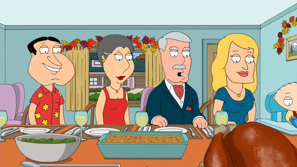Family Guy Season 10 :Episode 6  Thanksgiving