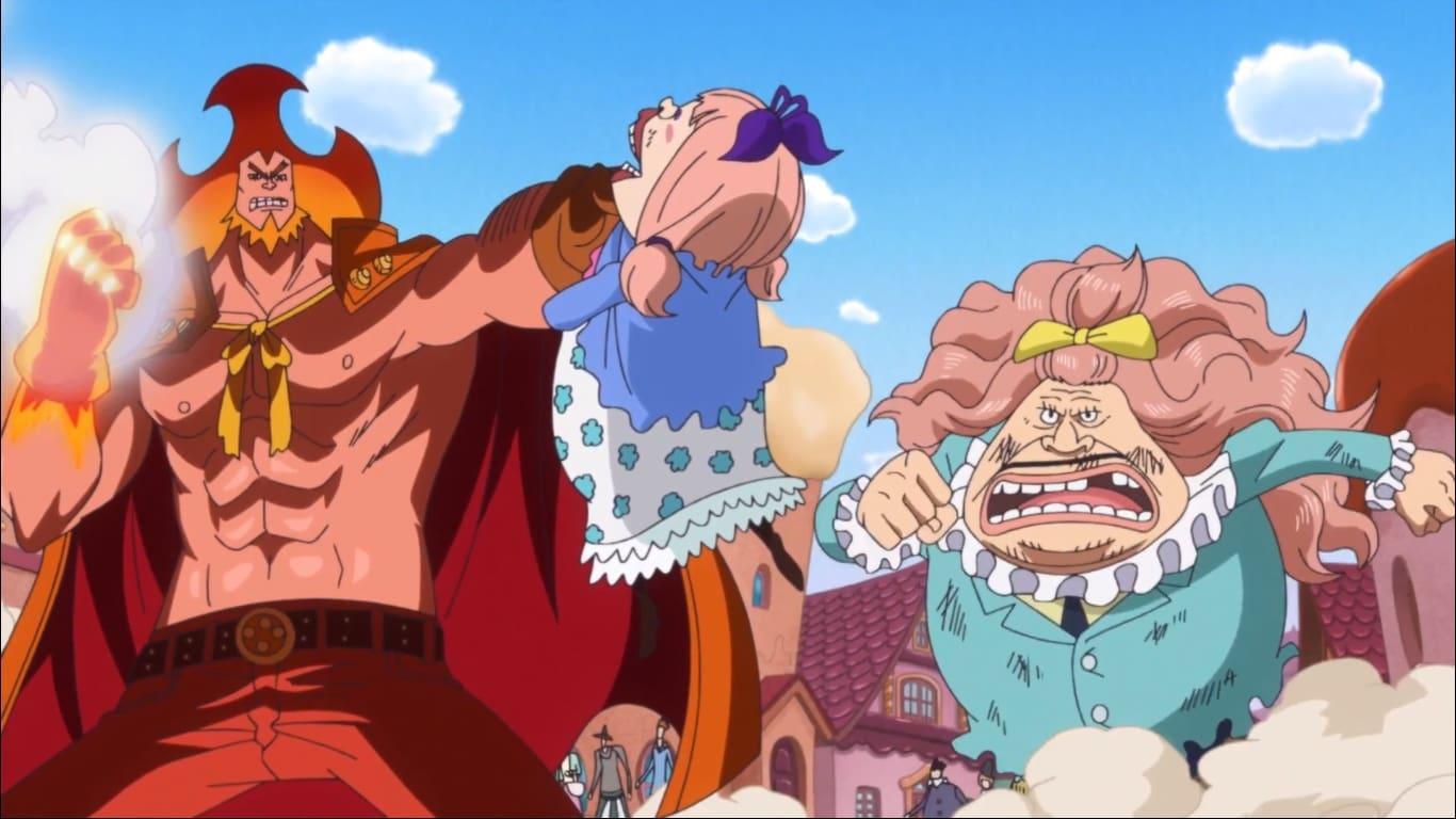One Piece Season 19 :Episode 859  The Rebellious Daughter, Chiffon! Sanji's Big Plan for Transporting the Cake!